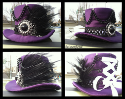 Miniature Top Hat Commission: Bound Elegance by snarkitty