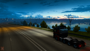 Beautiful Panorama [ETS2] by NovaticDesign