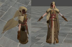 'Dark Souls 2' Emerald Herald W.I.P. by lezisell