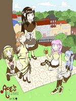 Bolet Faries Picnic (Alternate) by Choco-la-te