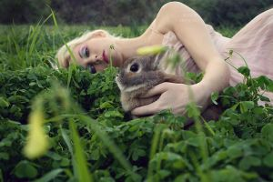In the Clover by fae-photography