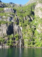 Trollfjord Waterfall by ChimeraDragonfang