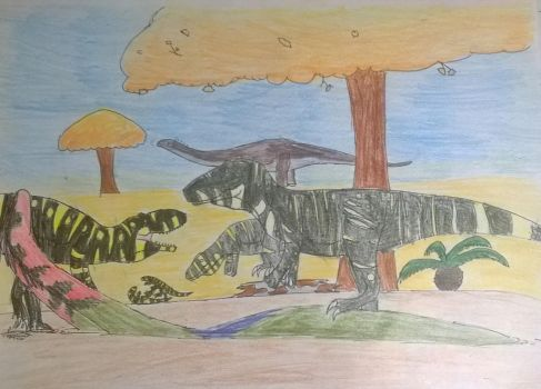 winton formation by Covelloraptor