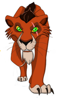 Scar The Saber-Tooth by kazifasari