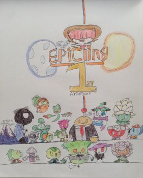 The 1st Anniversary! feat: pvzh oc's by Epicling