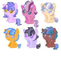FlashLight Adoptables (OPEN) by Radioactive-Cryptid