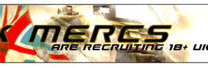Gaming clan recruitment banner by DreamMedia-UK