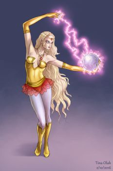 Astral Sorceress by Kittensoft