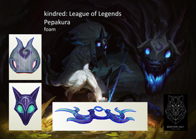 Kindred league of legends by BohemianWolfDownlod