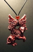 Wind Strider pendant in Sunset by Meadowknight
