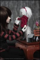 Girl with a doll by yenna-photo