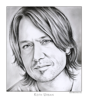 Keith Lionel Urban by gregchapin