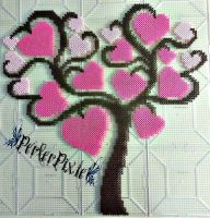 Tree of Hearts by PerlerPixie