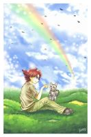 Over the Rainbow and Beyond by whateverwinnie