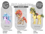 [OPEN] MLP Adoptables by hinivaal