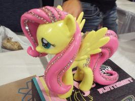 ( MLP ) Jeweled Funko Fluttershy Toy by KrazyKari