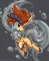 Keldeo by StePandy