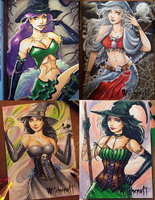 Perna Witchcraft Artist Proofs by ColletteTurner
