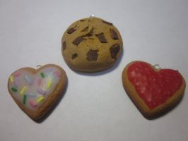 Polymer Clay Scented Cookies by Darklunax110