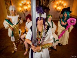 AX Magi Shoot: Sinbad and his Captains by SNTP