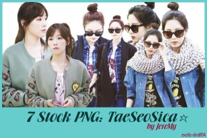 [PNGset9] SNSD's TaeSeoSica by exotic-siro