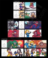 Marvel Premier Hinged Cards by mashi