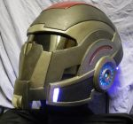 Mass Effect Breather Helmet by anarchysquared