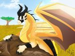 Safari Dragon by AnimePeep33
