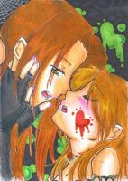 I wanna kiss you... by Shinomori-Misao