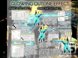 PS Tutorial: Glowing Outline by hatefully