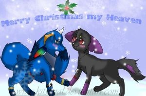 Merry Christmas my heaven by Kitsunal