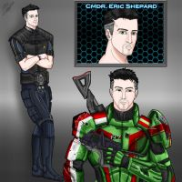 Mass Effect - Character Sheet Eric Shepard by Guyver89
