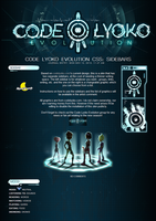 Code Lyoko Evolution CSS (sidebars) by A-queenoffairys