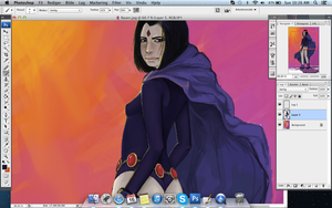 Raven WIP update by Goldnarrs