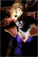 LOL: Blade Queen Lissandra by Dalliant