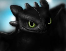 Toothless Drawing 4 by thewebsurfer97