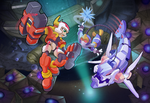 Megaman ZX- Lurrere The Abysroid by ultimatemaverickx