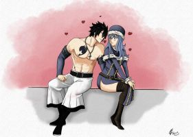 Gray and Juvia by VenCheramu