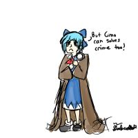 BECAUSE CIRNO CAN TOO by Mayumiligaya