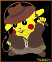 """Indiana Jones""Chu by pikabellechu"