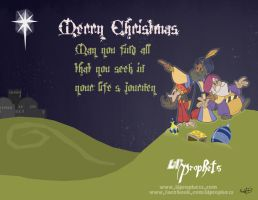 Merry Christmas from Lil'Prophets by Kenny-boy
