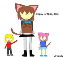 A Birthday Gift For My Dad by LadyCatgirl