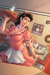 3-2-1 Diner Pinup by DStPierre