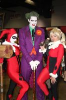 The Joker and his Harley Quinns by VoiceofSupergirl