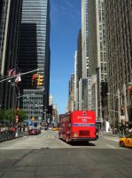 NYC N 6th Avenue and West 49th Street by PaulRokicki
