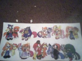 Sonic and Ponies 2 by PrincessShannon07