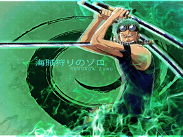 Rorona Zoro Wallpaper by lotras