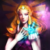 Princess Zelda by Fanelia-Art