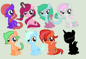 Free Foal Adopts ((CLOSED)) by TheHetaliaFangurl