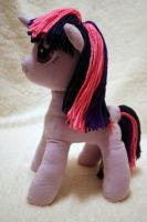 Twilight Sparkle Plushie by DogerCraft